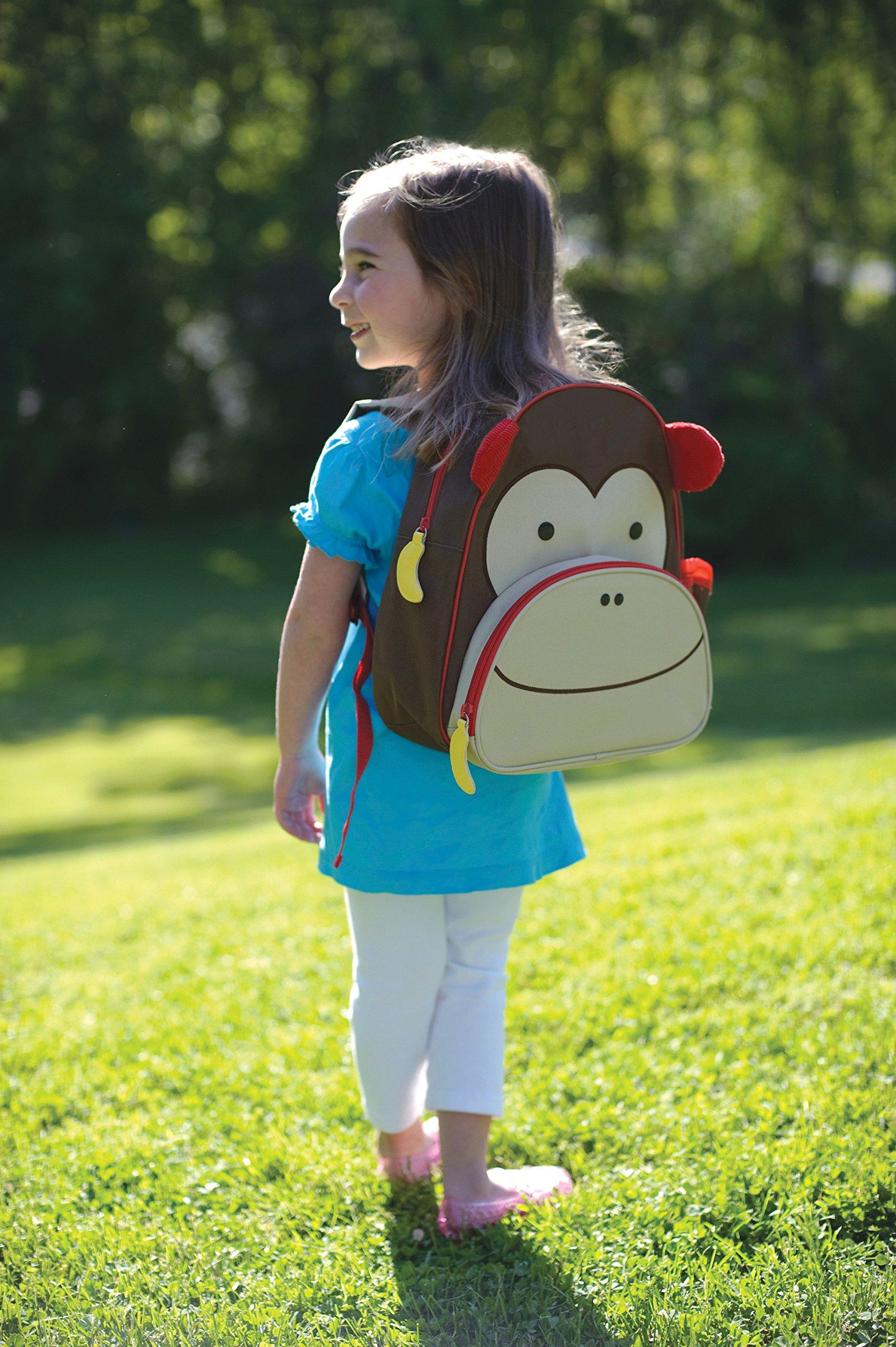 Zoo Toddler Backpack Marshall Monkey, 12'' School Bag, by Skip Hop (Image #7)
