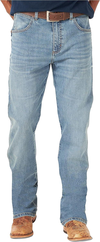 Wrangler Men's Retro Memphis Mall Slim Fit Cut Green Jean Boot San Jose Mall
