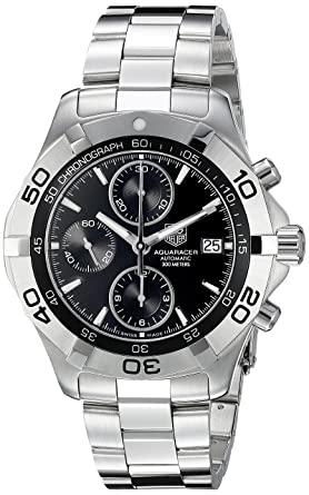 3e46d328880 Image Unavailable. Image not available for. Color: TAG Heuer Men's CAF2110. BA0809 ...