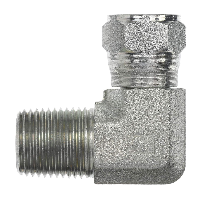 "1//4/"" Male JIC X 1//4/"" Female JIC 90 Degree Elbow 6500-04-04 Hydraulic Adapter"