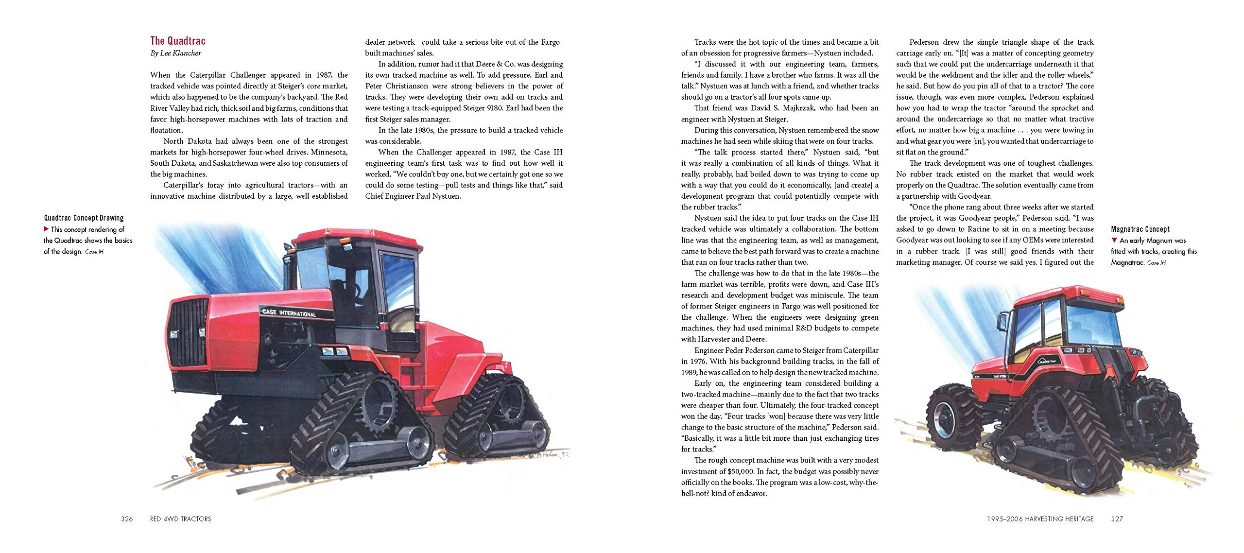 Red 4WD Tractors: Lee Klancher: 9781937747718: Amazon com: Books