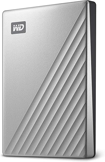 Wd My Passport Ultra Externe Festplatte 2 Tb Silber Amazon De