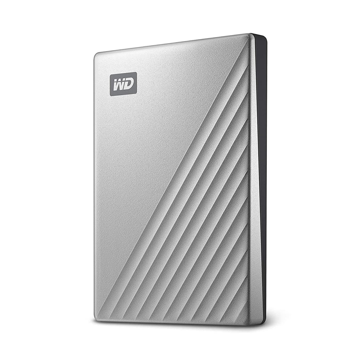WD 2TB My Passport Ultra Silver Portable External Hard Drive, USB-C - WDBC3C0020BSL-WESN Western Digital