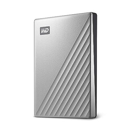 מדהים Amazon.com: WD 2TB My Passport Ultra Silver Portable External Hard KO-01