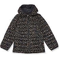 $35 » Amazon Essentials Girls' Lightweight Water-Resistant Packable Hooded Puffer Jacket