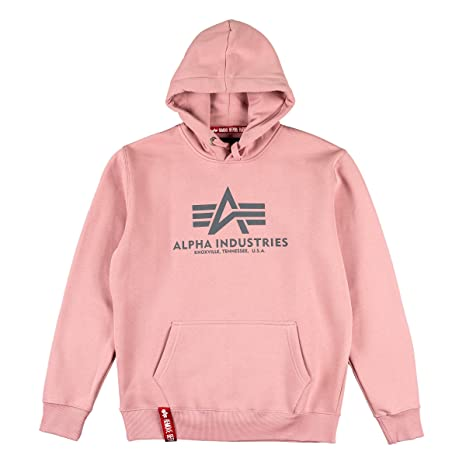 Alpha Industries Basic Hoodie Rosa M