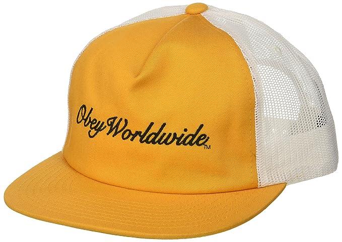 Obey Hombres 100500012 Gorra de béisbol - Dorado - Talla única: Amazon.es: Ropa y accesorios
