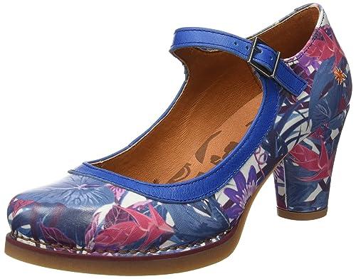 0933F Fantasy Harlem, Zapatos de Tacón con Punta Cerrada para Mujer, Varios Colores (Arlekin 2), 36 EU Art