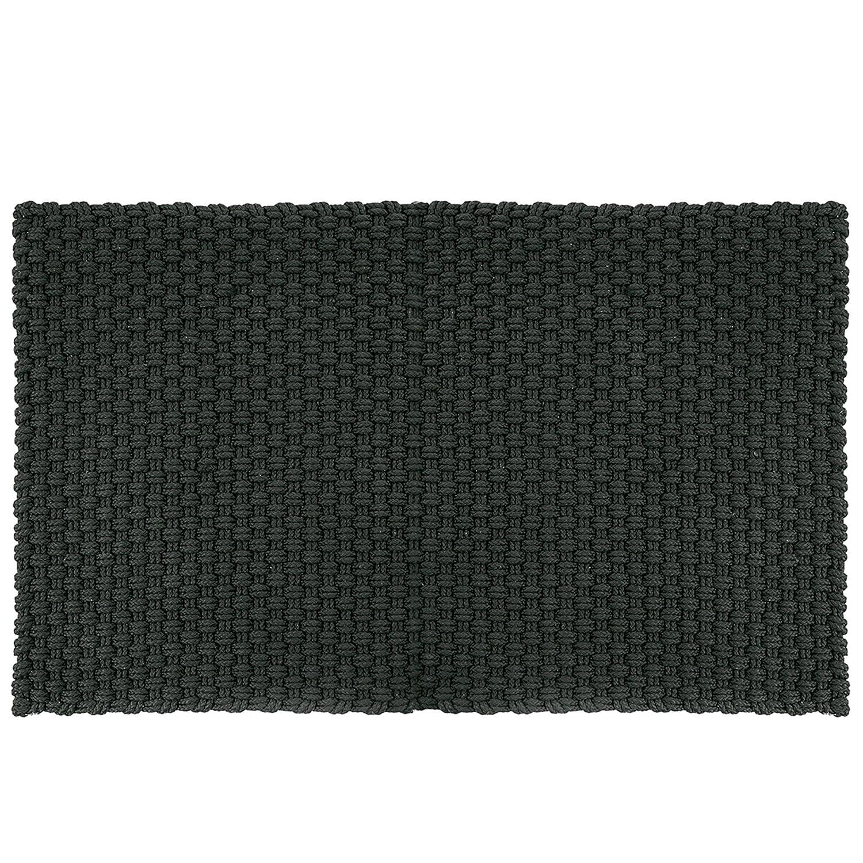 Pad - Fußmatte - Fußabtreter - Uni - Indoor Outdoor - schwarz - 72 x 132 cm