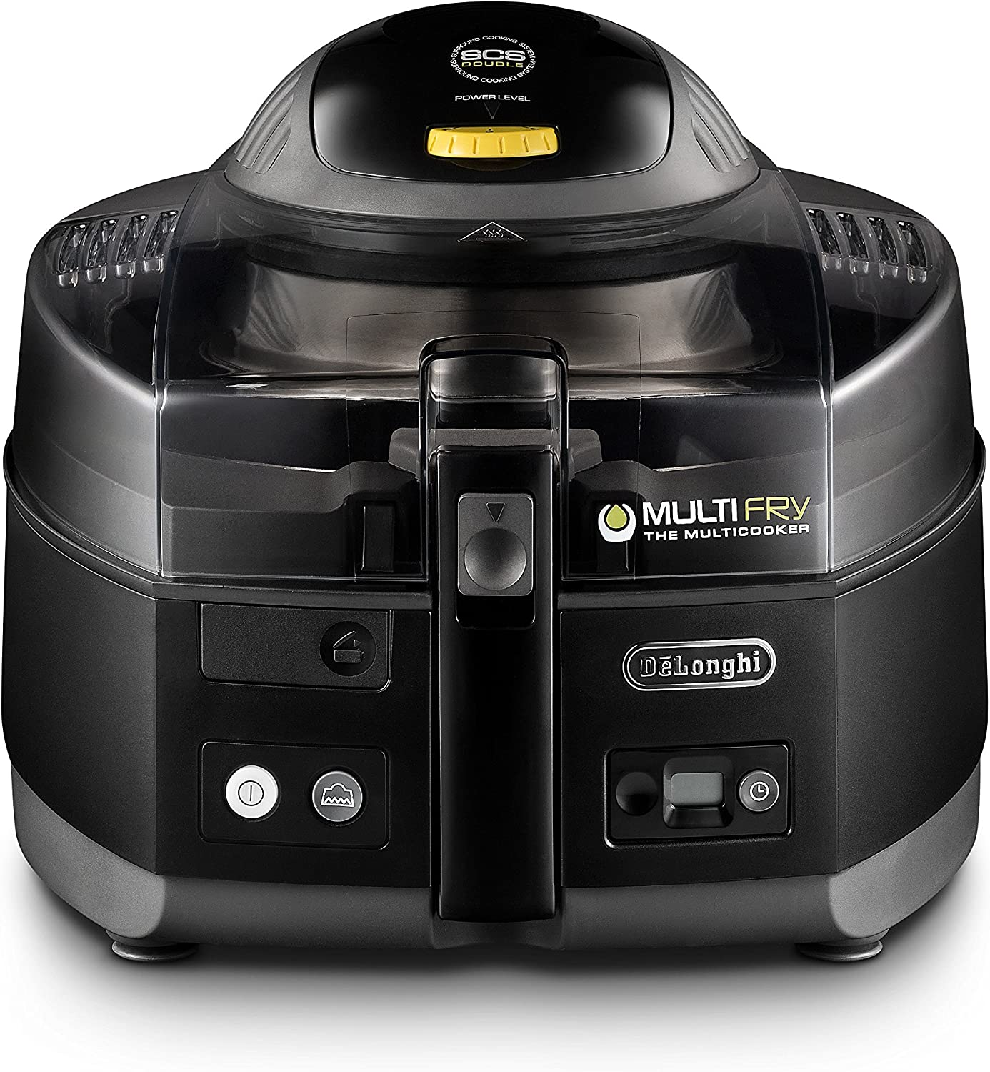 DeLonghi 125392006 De'Longhi FH1163 MultiFry, air fryer and Multi Cooker, Black