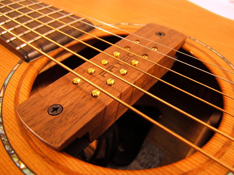 Madera de nogal ARTEC pastilla magnética para guitarra acústica tipo ...