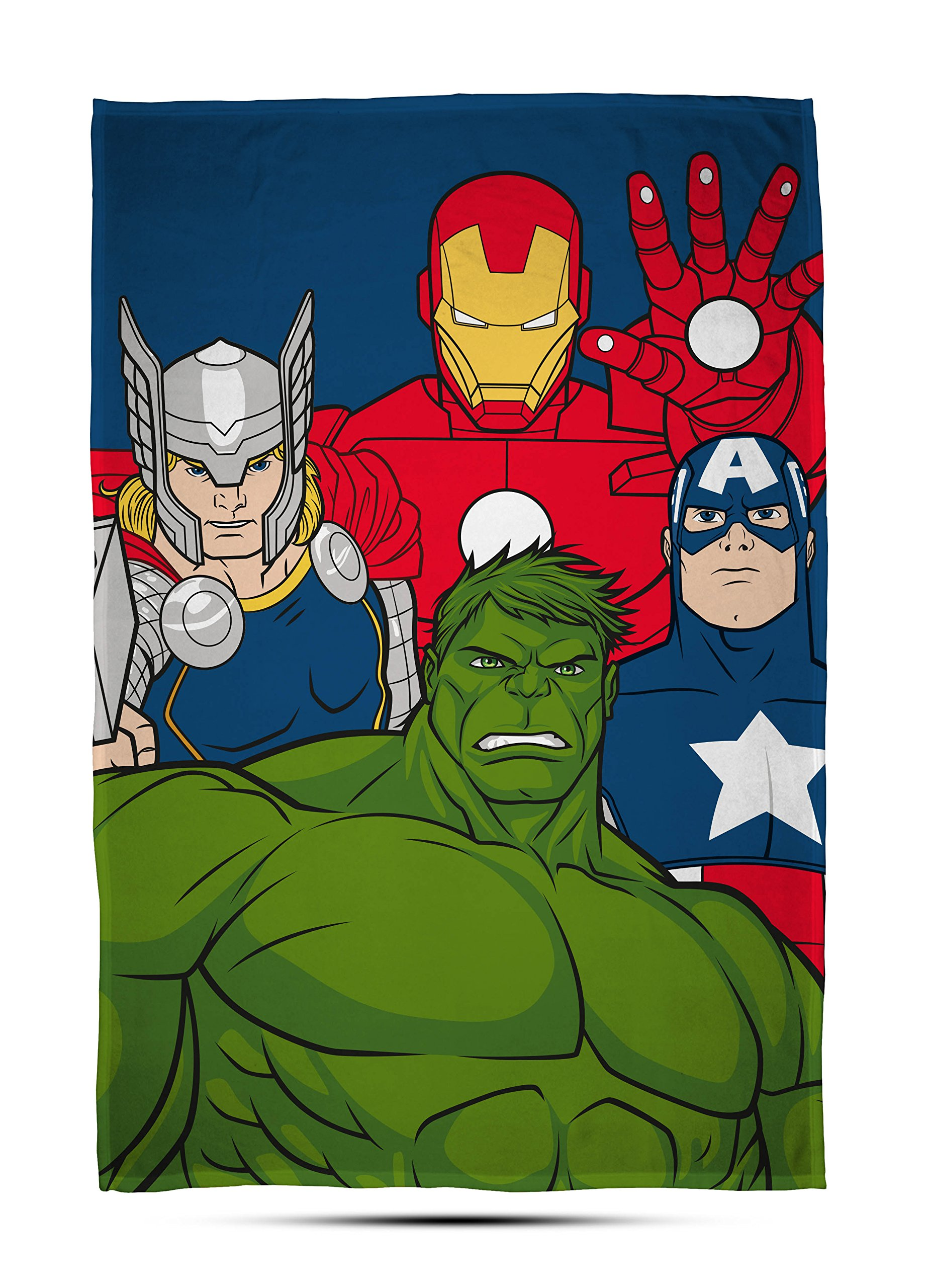 Large Print Design Marvel Avengers /'Mission/' Fleece Blanket