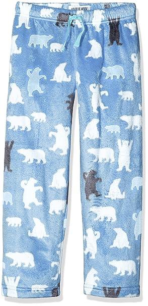 Hatley Lbh Kids Fuzzy Fleece Pants-Blue Bear, Pantalones de Pijama para Niñas, Azul, 10 años: Amazon.es: Ropa y accesorios