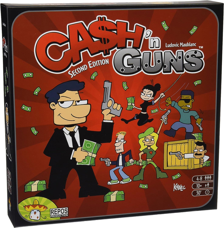 Repos Production- Cash N Guns (Asmodee ADE0CAS02ML): Amazon.es ...