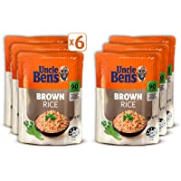 UNCLE BEN'S Brown Rice, 6 x 250g