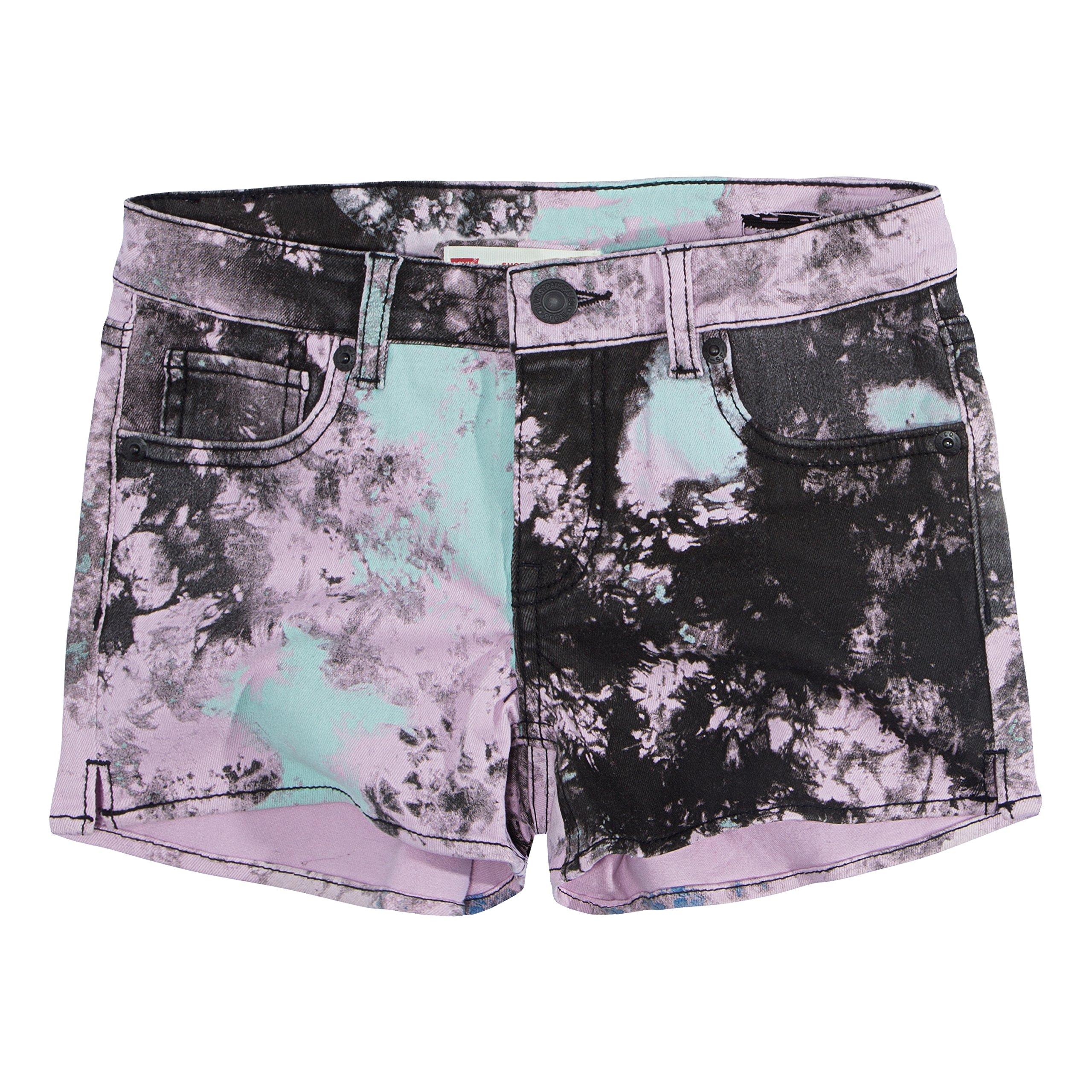 Levi's Girls' Denim Shorty Shorts