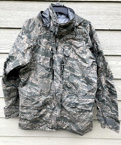 lowest price c813e a573d Amazon.com   Genuine Us Air Force Usaf Apec Goretex Cold Weather Tiger  Stripe Parka - Medium Long.   Everything Else