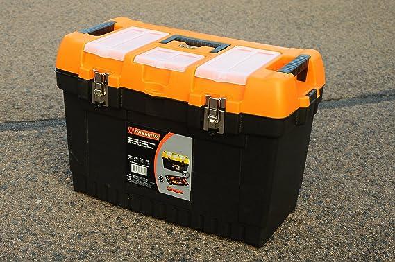 22 Jumbo – Caja de herramientas vacía Caja de herramientas caja de herramientas caja de herramientas caja de plástico – B/L/h – 31 cm/57 cm/27 cm: Amazon.es: Bricolaje y herramientas