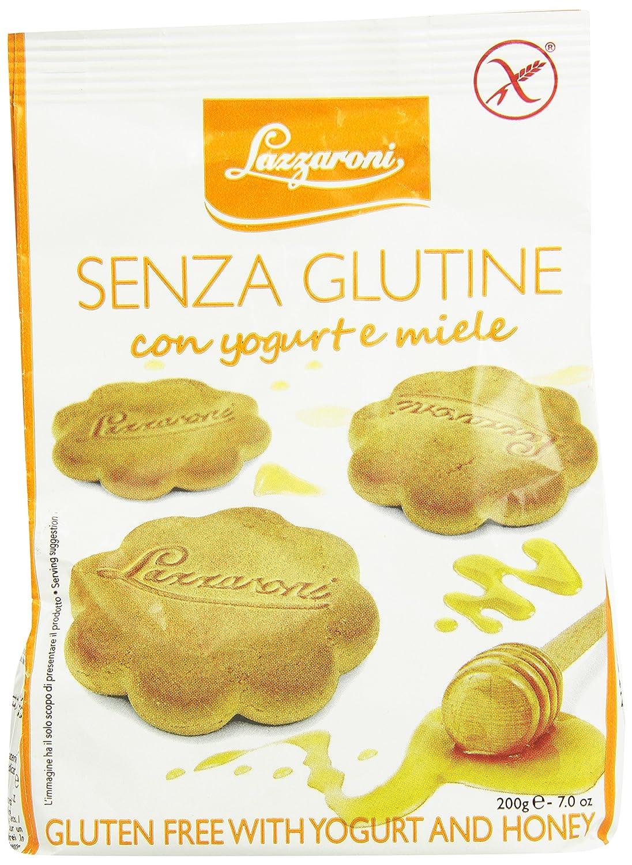 Lazzaroni la torta dulce con yogur y miel Sin Gluten 200g: Amazon.es: Salud y cuidado personal