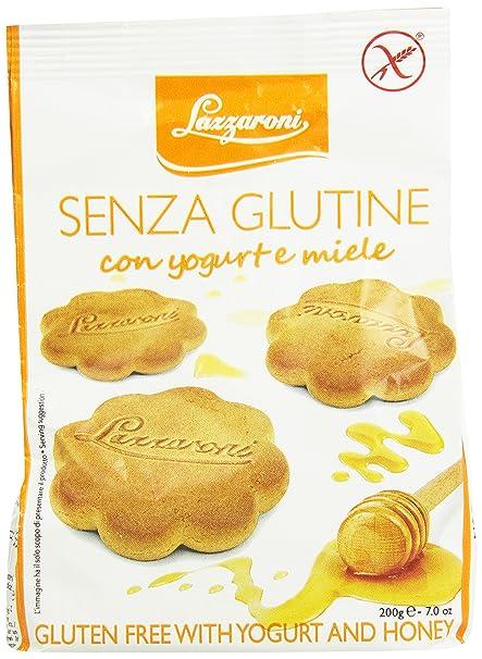 Lazzaroni la torta dulce con yogur y miel Sin Gluten 200g