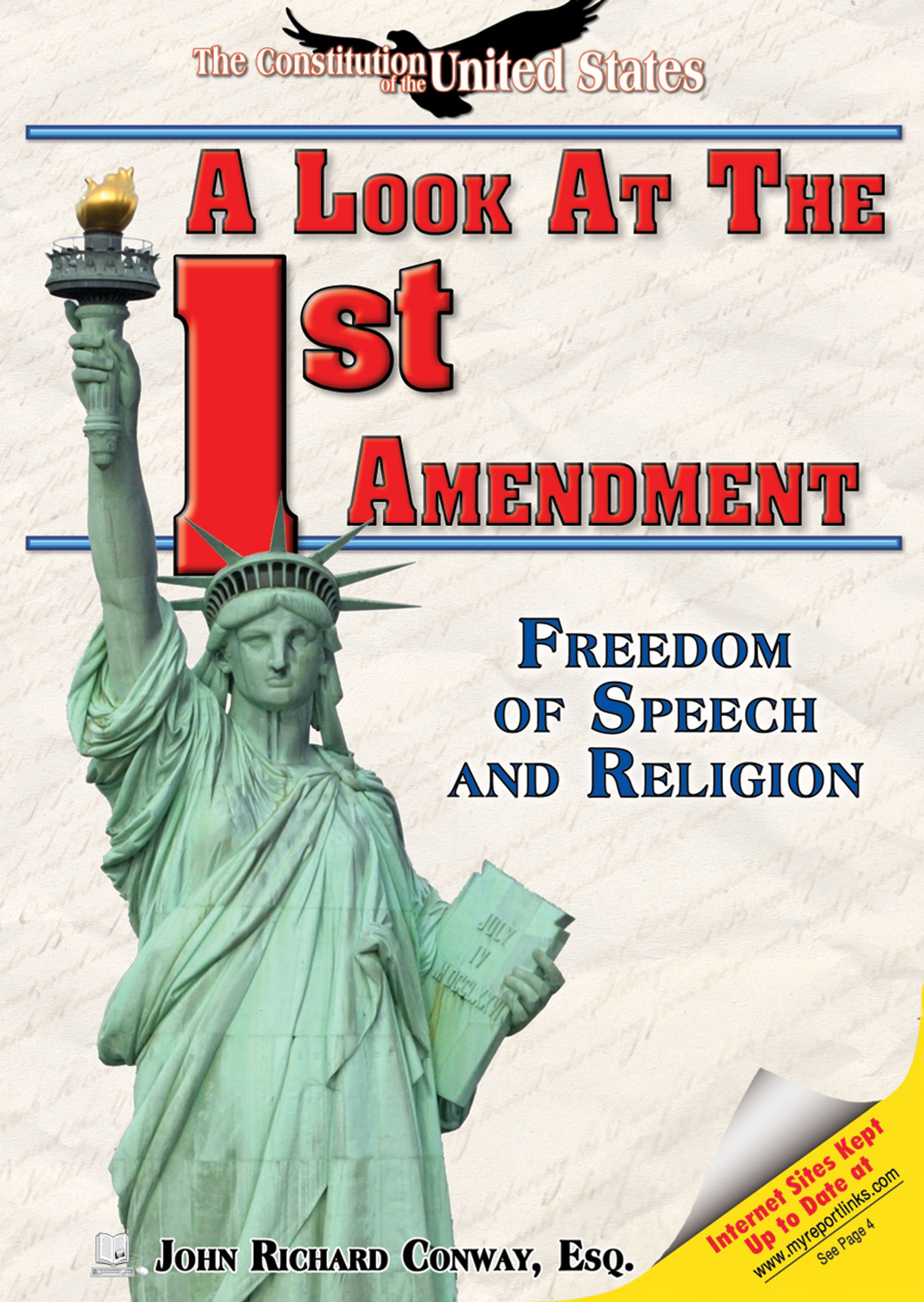 Download A Look at the First Amendment: Freedom of Speech and Religion (The Constitution of the United States) pdf
