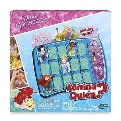 Hasbro Gaming Juego De Mesa Adivina Quien Princesas De Disney