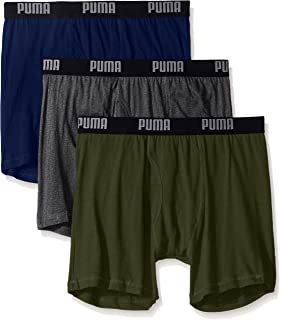 e4d78e57127d Amazon.com: Puma-PUMFW1411527-313-Athletic Fit Cotton Boxer Briefs-3 ...
