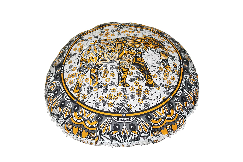 Amazon.com: Real Online Seller Mandala Floor Pillow Cover ...