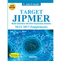 Target Jipmer Pgmee May 2017 supplement