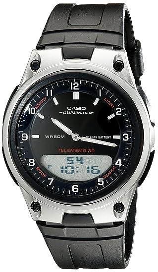 Casio AW80 - 1 AV del Hombre Forester Banco de Datos Ana-Digi Reloj: Casio: Amazon.es: Relojes