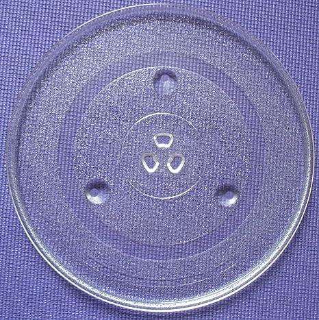 Amazon.com: Plato microondas bandeja de vidrio Carrusel ...