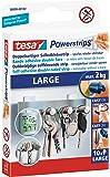 tesa 58000-00102 - Powerstrips Lot de 10 languettes double-face amovibles juqu'à 2 kg
