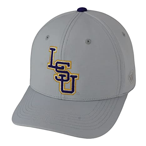 big sale 7f4e6 41b36 ... australia lsu tigers official ncaa one fit impact hat by top of the  world 057507 91d33