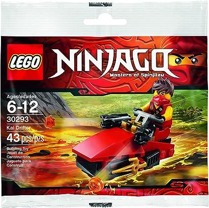 Amazon.com: Juego de drifter Kai, Ninjago de LEGO (30293 ...