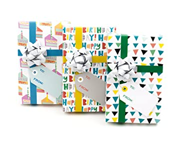 Hallmark Birthday Gift Card Holder Mini Boxes 3 Pack