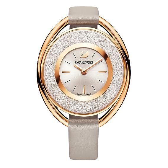 0eb4ce82939e Swarovski Crystalline Oval Rose Gold Tone Reloj  Amazon.es  Relojes