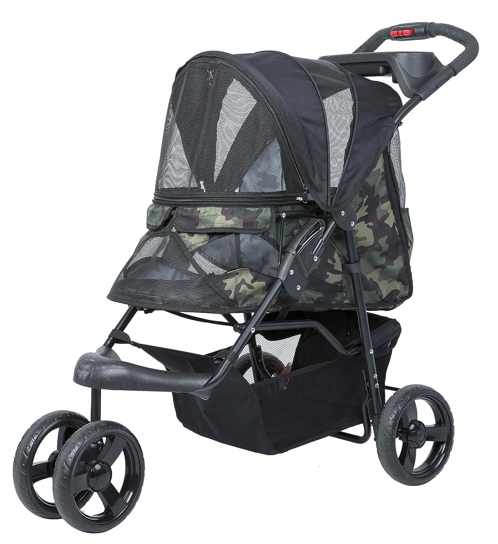 PETIQUE ST01030103 Pet Stroller, Green Camo, One Size