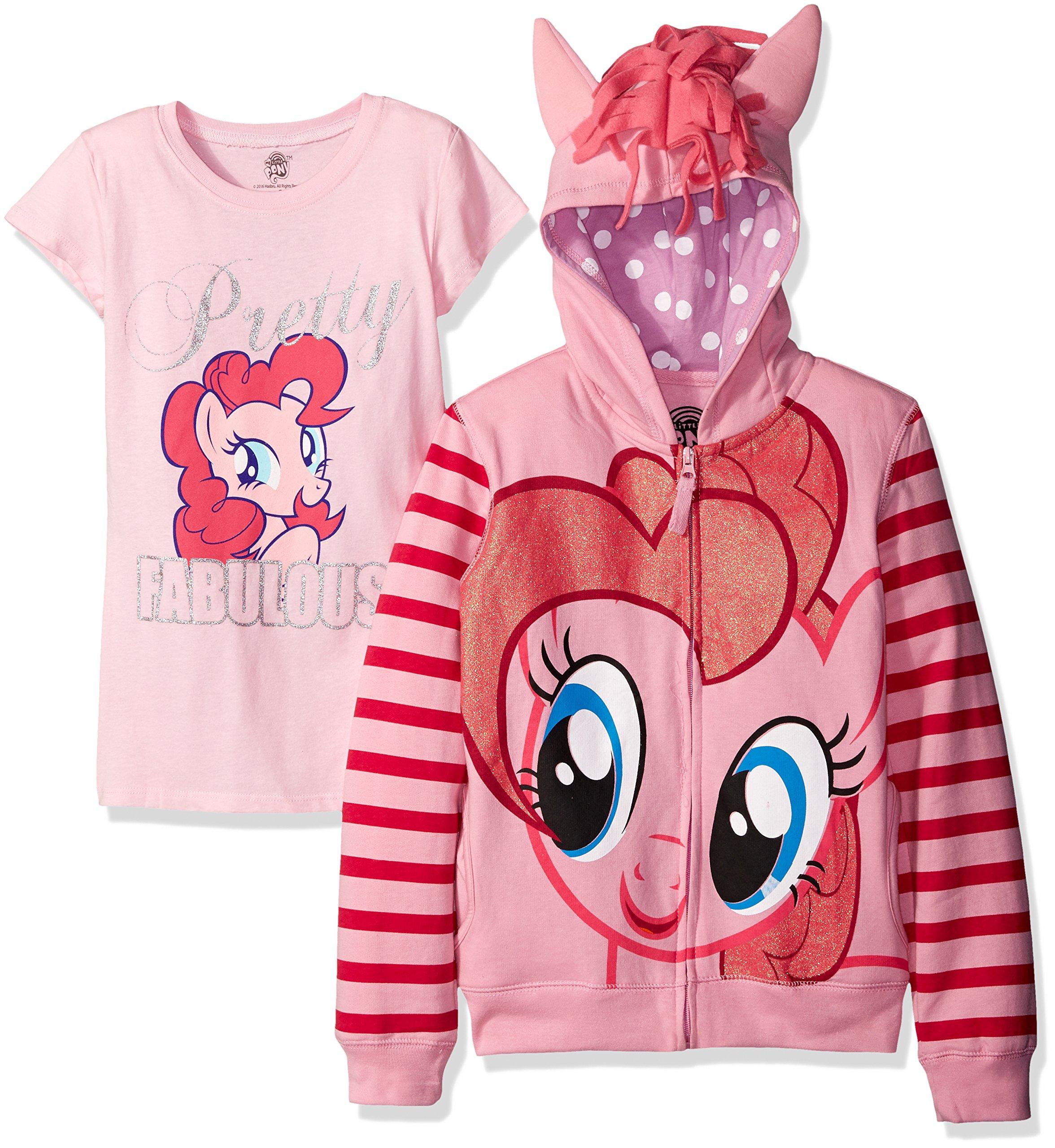 My Little Pony Little Girls' Pinky Pie Hoodie,Pink,2T