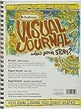 Strathmore Visual Journal Spiral Bound Art Pad, 9 by 12-Inch, Bristol Vellum