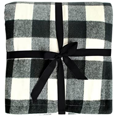 Gireshome 50 60  Grey High Density Thick Soft sherpa Blanket Plaid Buffalo Check double side sprin Winter thick warm blanket super warm soft throw on Sofa/Bed/Travel