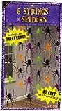 Amscan International 678124 Decorative String Spider Party Set