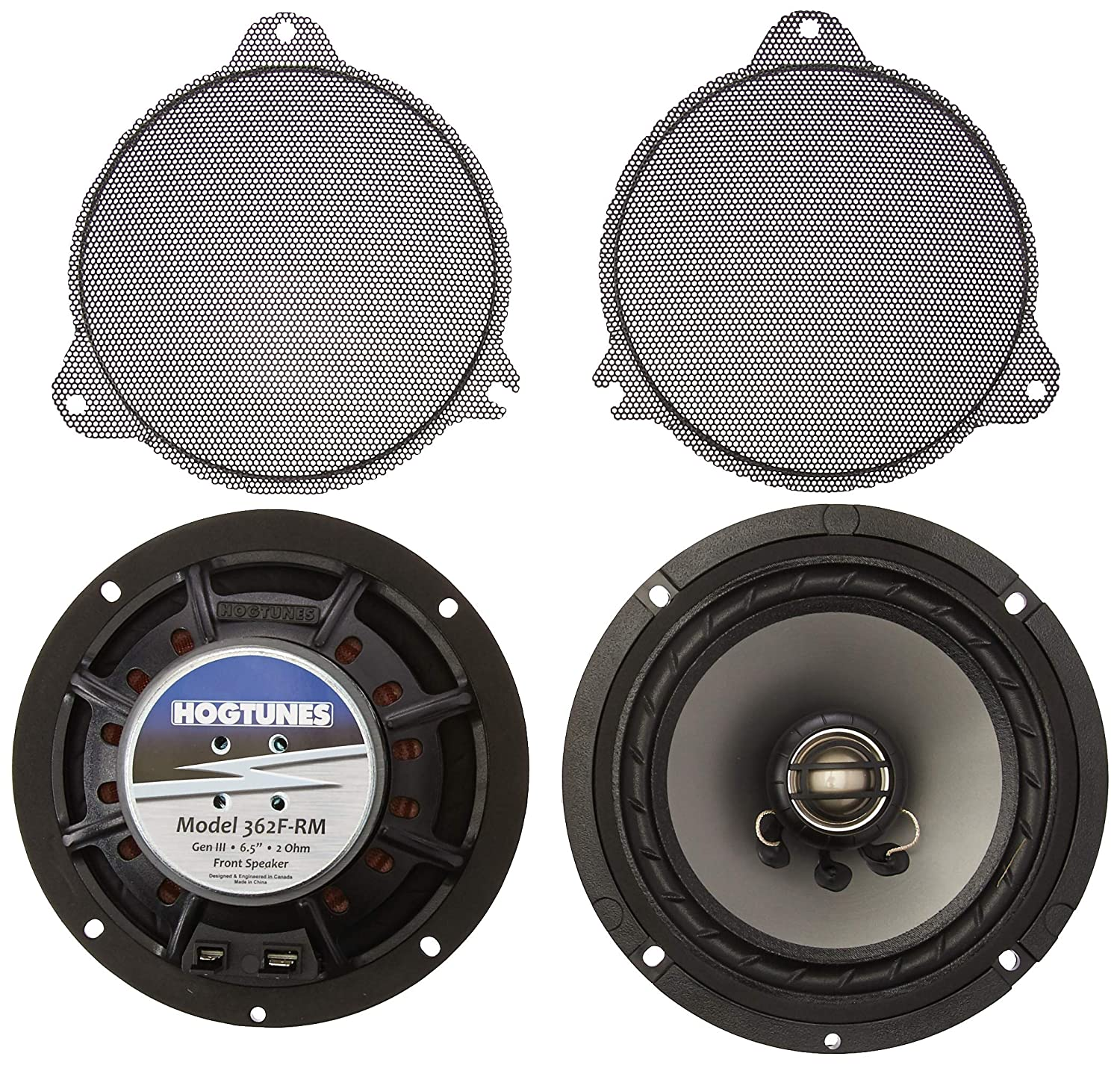 Replacement Gen 3 6.5 for 2014-2016 Harley-Davidson Touring Models Hogtunes 362F-RM Front Speaker
