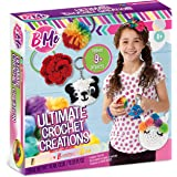 Ultimate Crochet by B Me – Crochet Kit for Girls – Knitting Kit for Beginners with Yarn and Hook – DIY Craft Kit for Kids & T