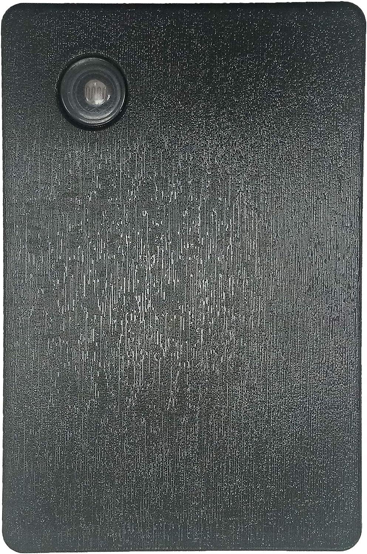 Detector Crepuscular color Negro Garza Power