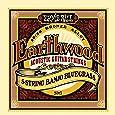 Ernie Ball P02063 Earthwood 5-string Banjo 80/20 Bronze Loop End Bluegrass Set (09-20)
