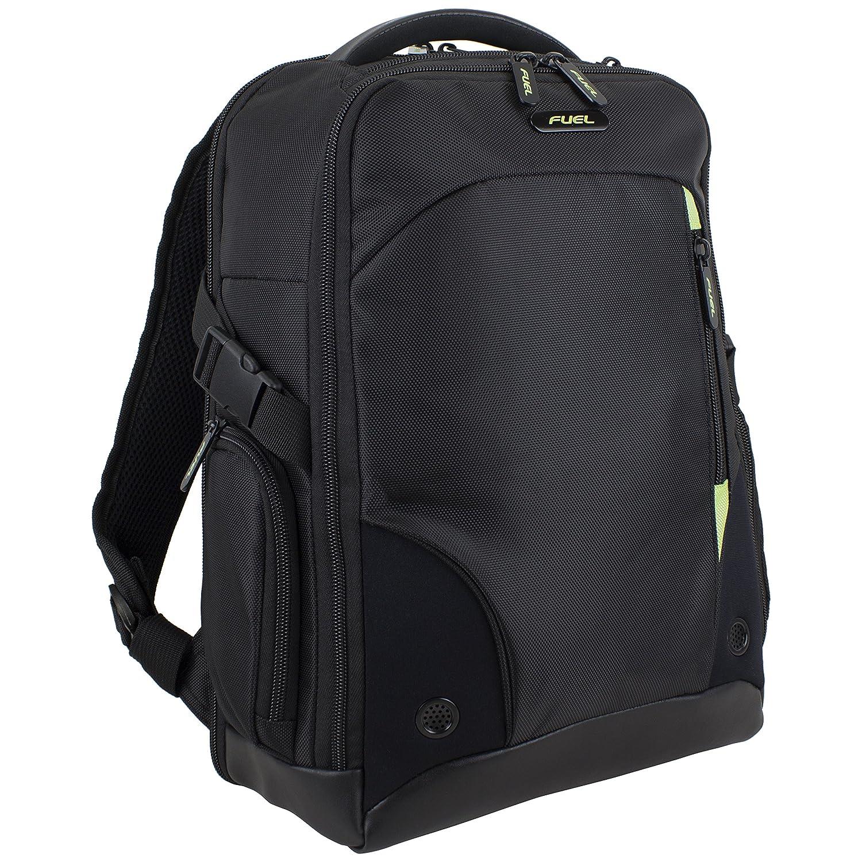 Fuel Tech ScanSmart Backpack TSA Friendly Flatbed Laptop Compartment, Black