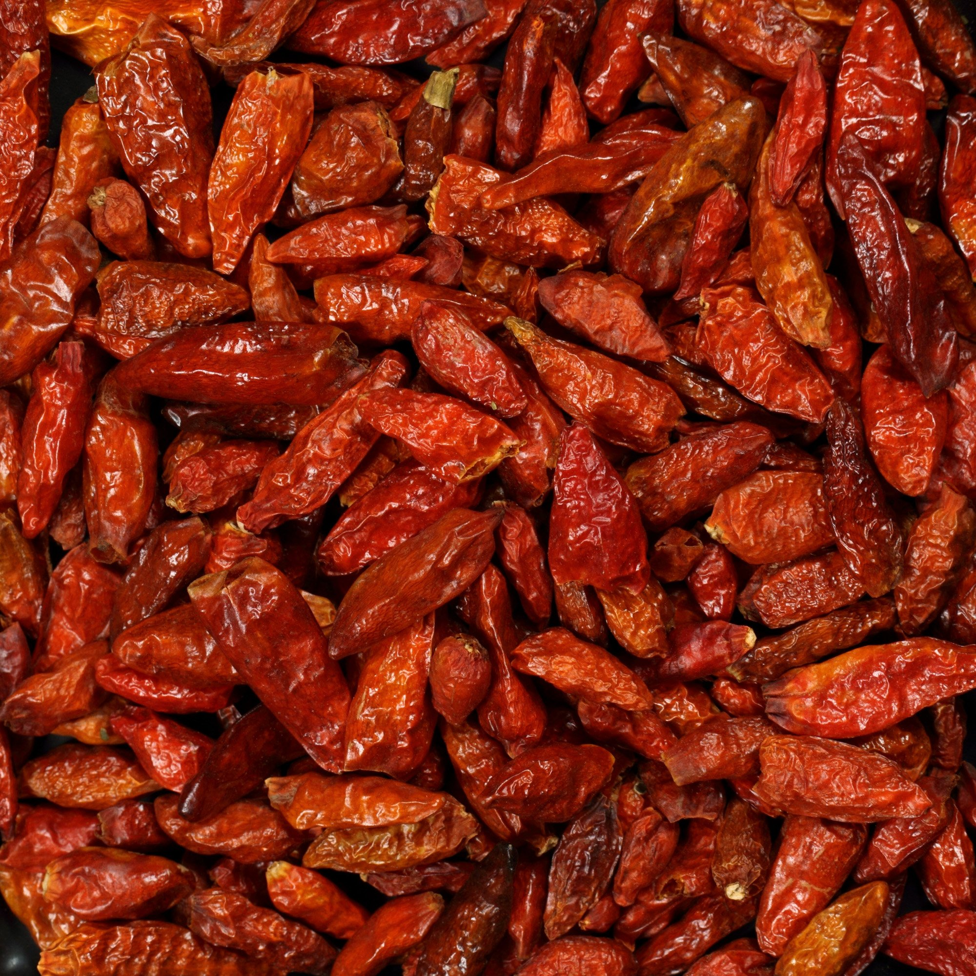 The Spice Lab No. 121 - Whole Birdseye Chile Peppers - Kosher Gluten-Free Non-GMO All Natural Pepper - 1 lb Resealable Bag