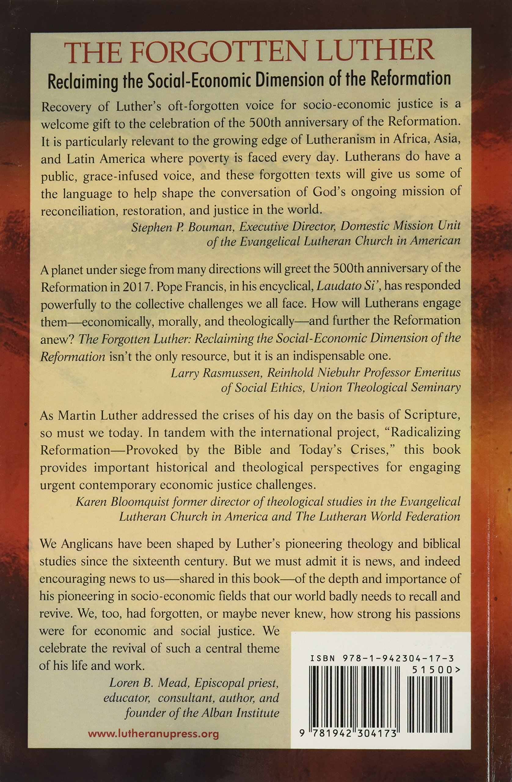The Forgotten Luther: Carter Lindberg, Editor, Paul Wee: 9781942304173:  Amazon: Books