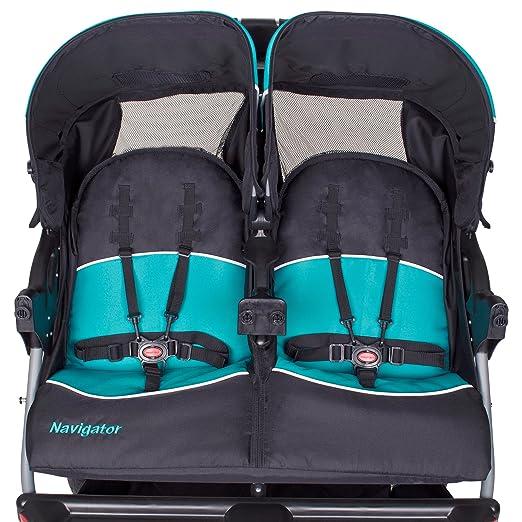 Amazon Baby Trend Navigator Double Jogger Stroller Tropic
