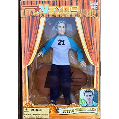 Living Toyz 'NSync Collectible Marionette - Justin Timberlake Doll: Toys & Games